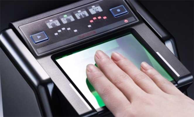 Сдаем отпечатки пальцев