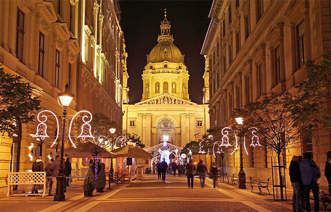 Европа в декабре