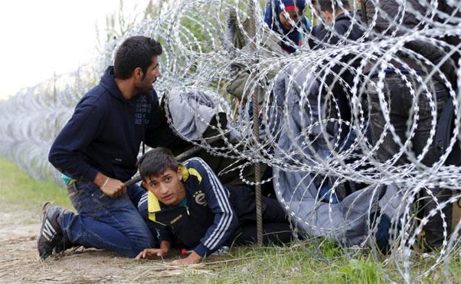 Нелегальное пересечение границы