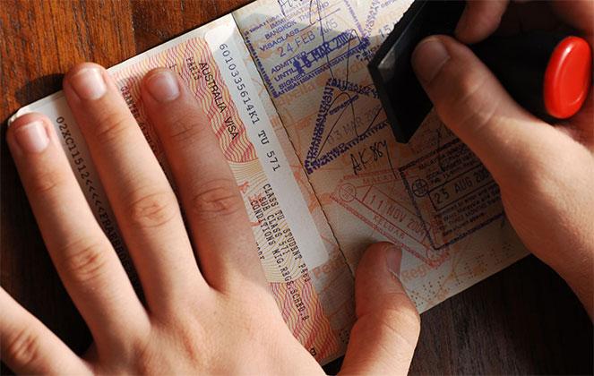 Получение визы с ошибкой
