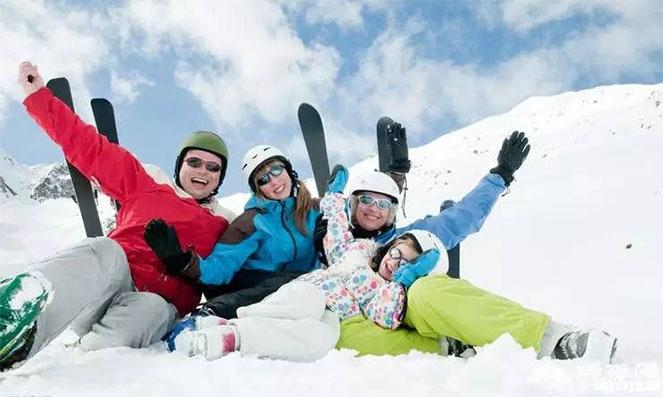 Отдых на лыжном курорте в горах