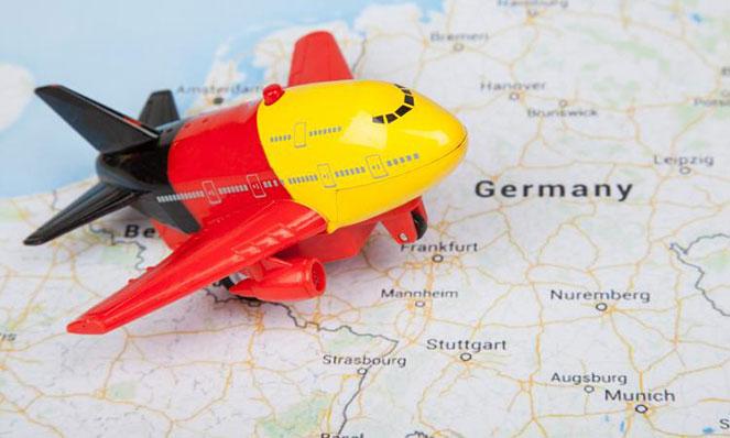Прибытие в Германию