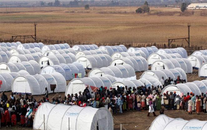 Лагерь для беженцев