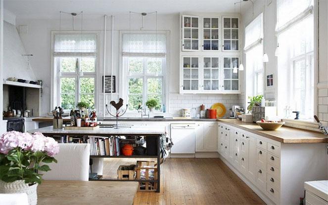 Интерьер на кухне
