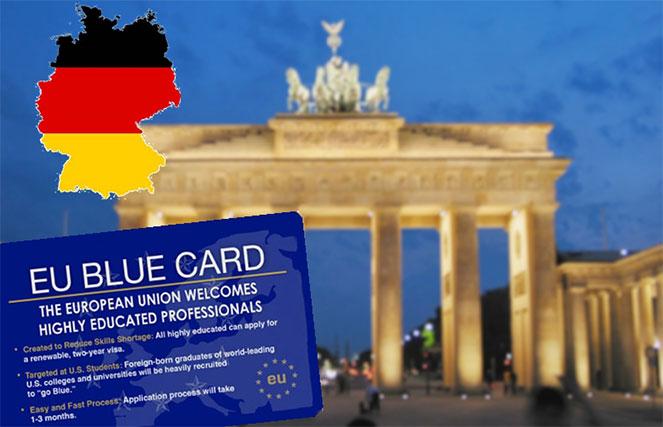 Оформление Голубой карты в Германию