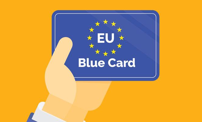 Получение Blue Card