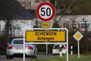 Въезд в Шенген