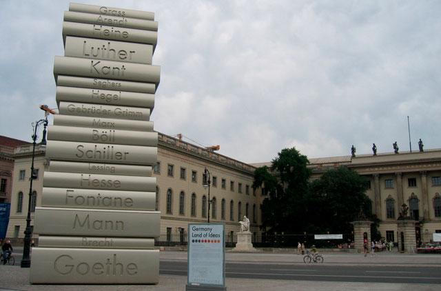 Факультеты университета имени Гумбольдта