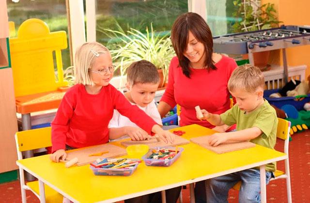 Система воспитания в садах Германии