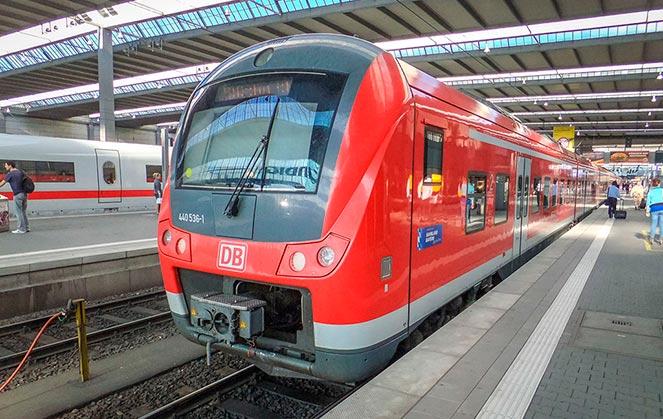 В Цюрих из Мюнхена на поезде