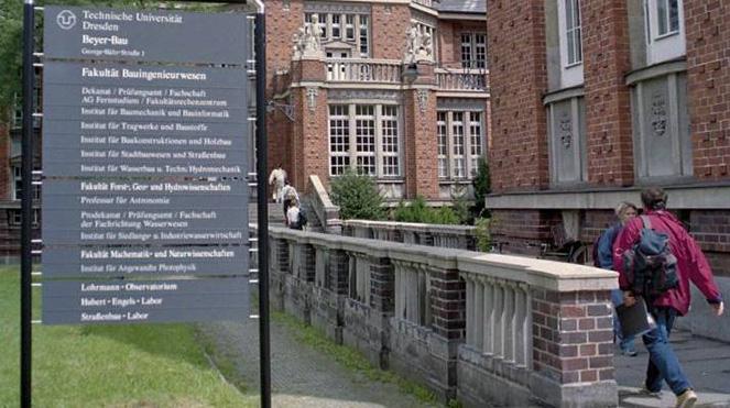 Факультеты Дрезденского технического университета