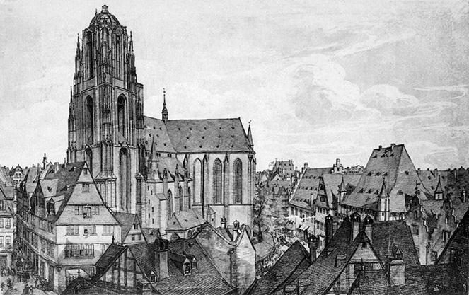 Строительство Франкфуртского собора Кайзердом