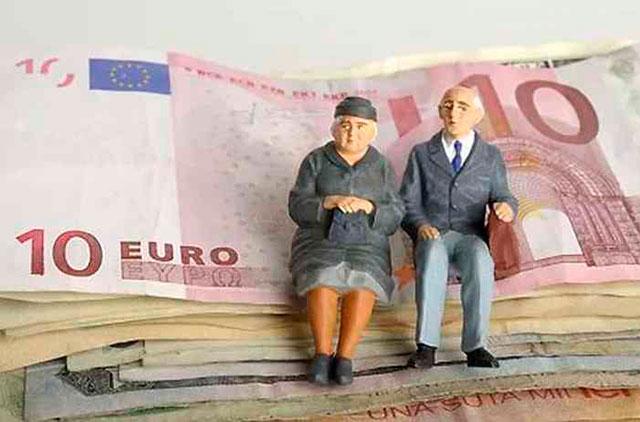 Средние пенсионные выплаты