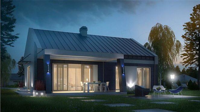 Одноэтажные дома в Польше
