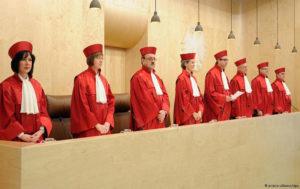 Структура судебной системы в ФРГ
