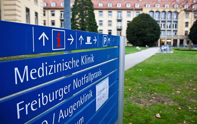Структура университетской клиники Фрайбурга
