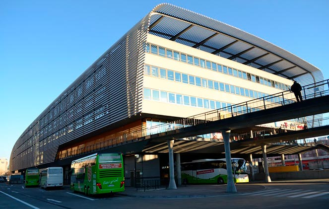 Центральный автовокзал Мюнхена