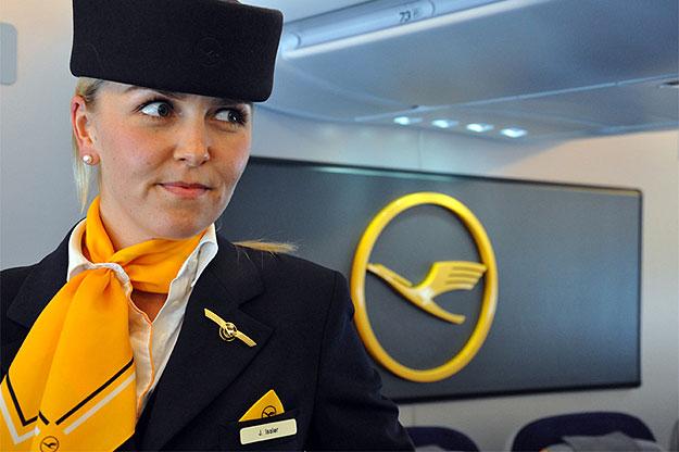Обслуживание Lufthansa