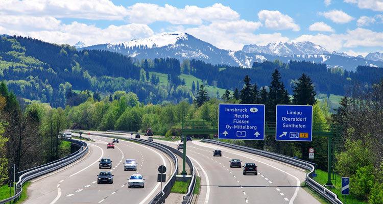 Дороги и автобаны германии