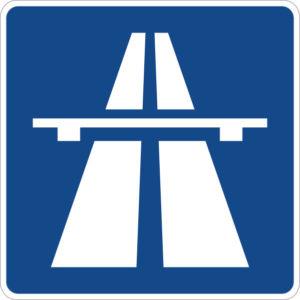 Автобан знак