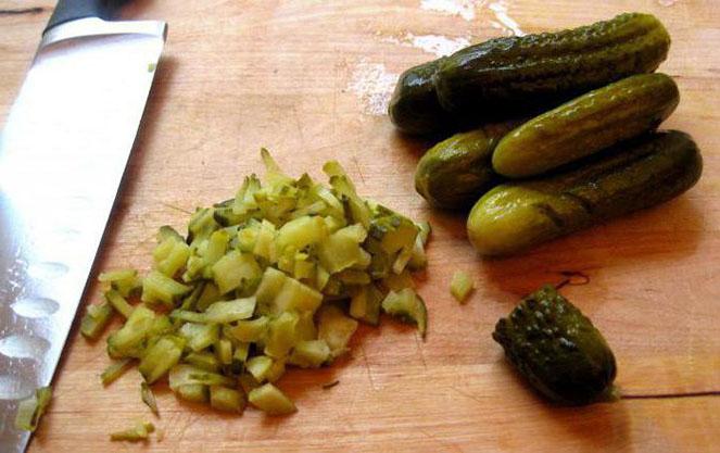 Важные ингредиенты баварского салата