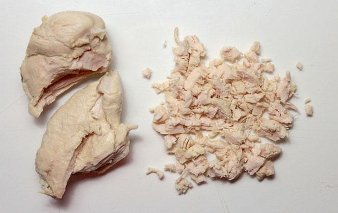 Куриное мясо в баварском салате