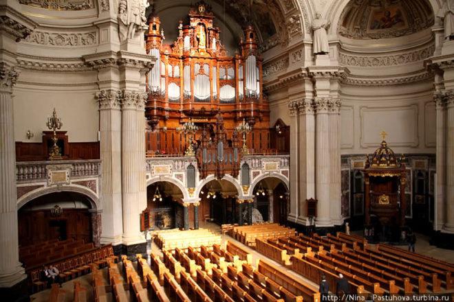 Внутренний вид собора
