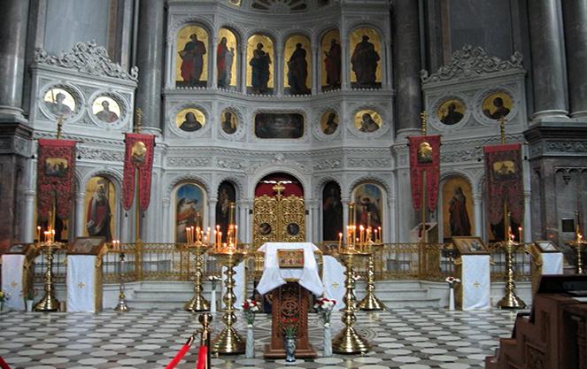 Убранство церкви Святой Елизаветы в Висбадене