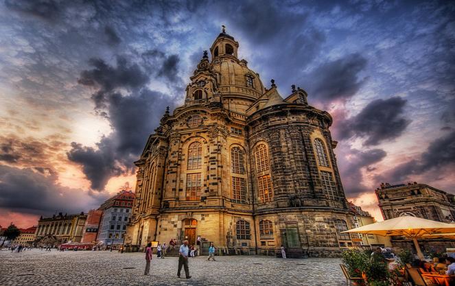 Соборы и церкви Дрездена