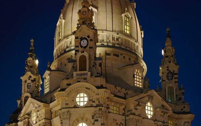 Внешний вид Фрауэнкирхе в Дрездене