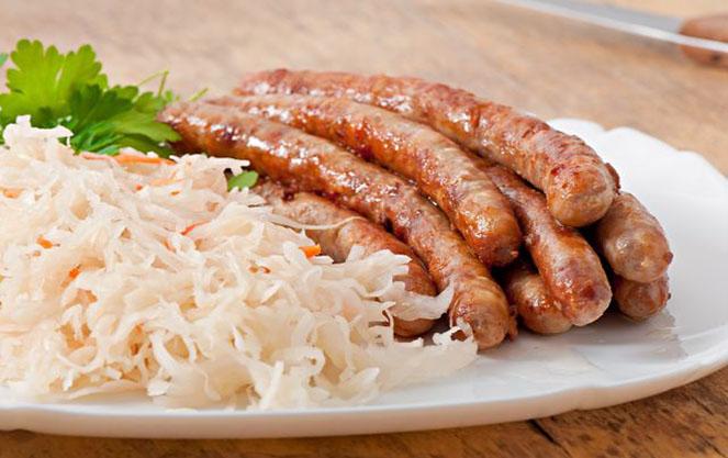Капуста в германской кулинарии