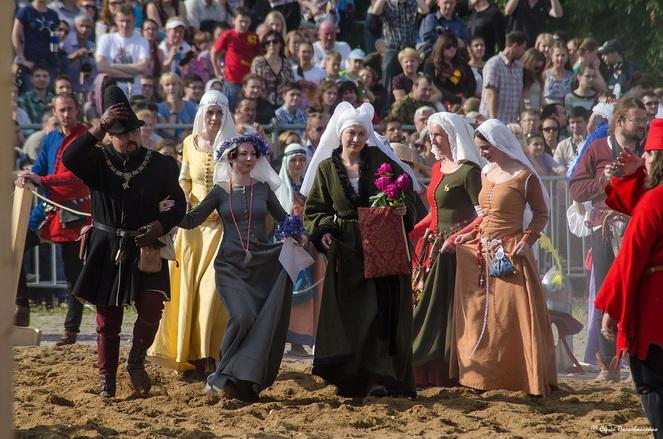 Рыцарский турнир в Италии