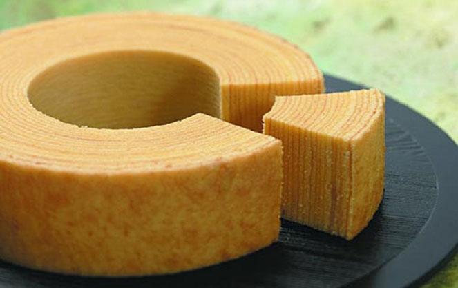 Баумкухен пирог в форме дерева