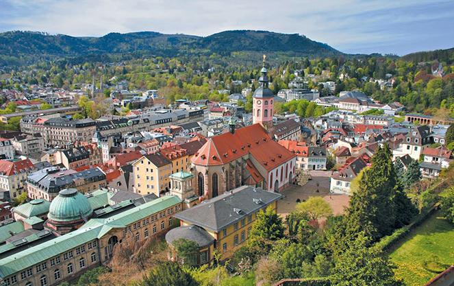 Лечение и реабилитация на курорте Баден-Баден