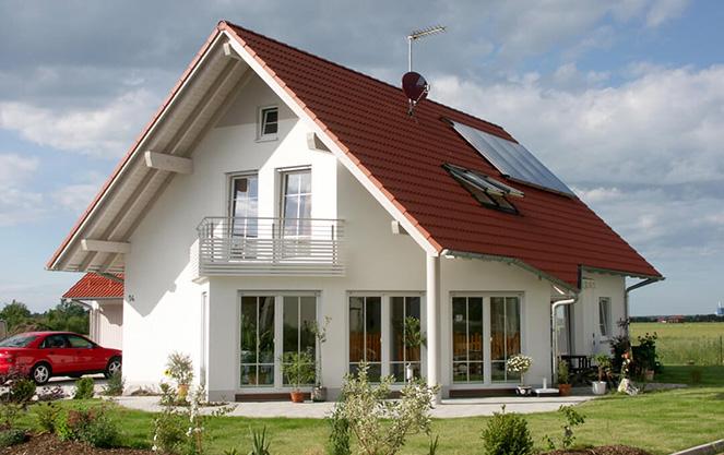 Классический дом с несущими элементами