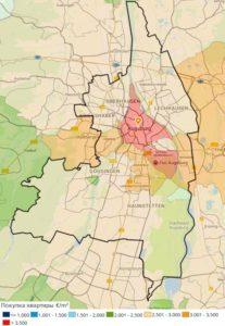 Цены на квартиры в Аугсбурге