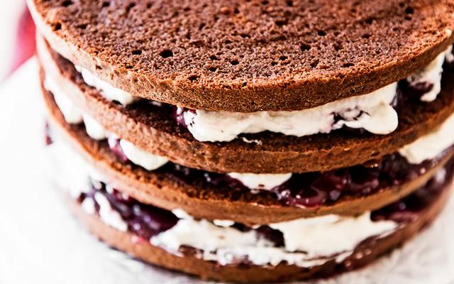 Сборка Шварцвальдского торта