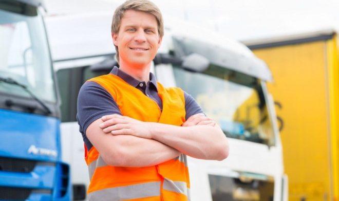 Водитель грузовика в Польше