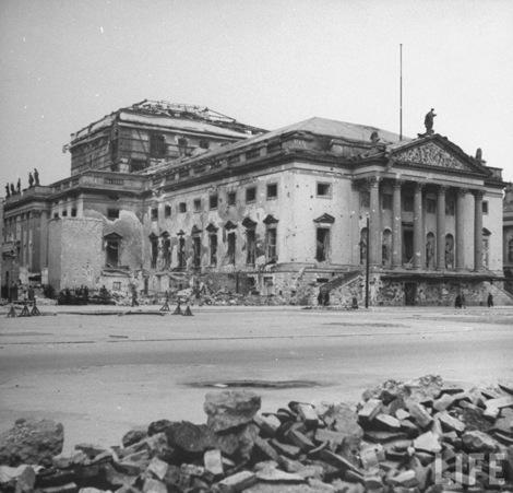 Строительство берлинской государственной оперы