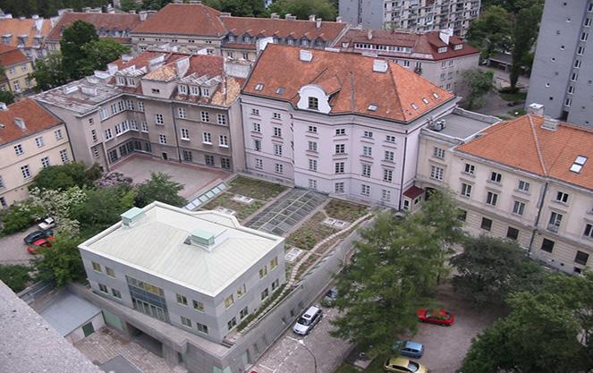 Инфраструктура варшавского университета