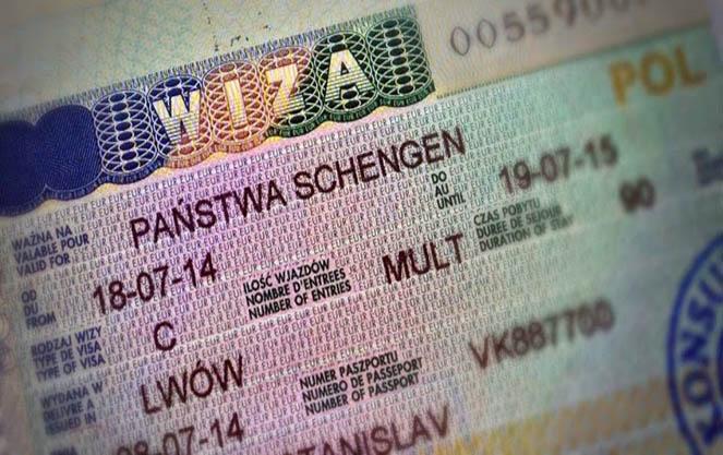 Польская шопинг виза