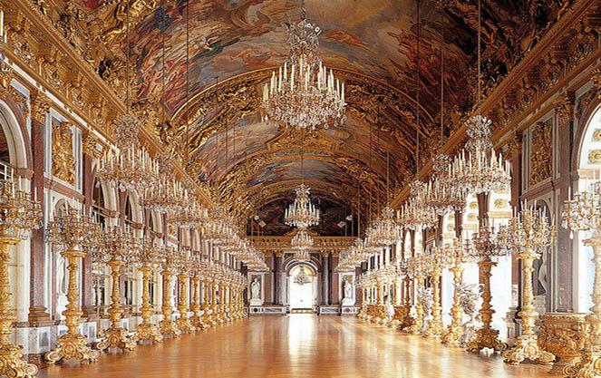 Главный вестибюль замка херренкимзее