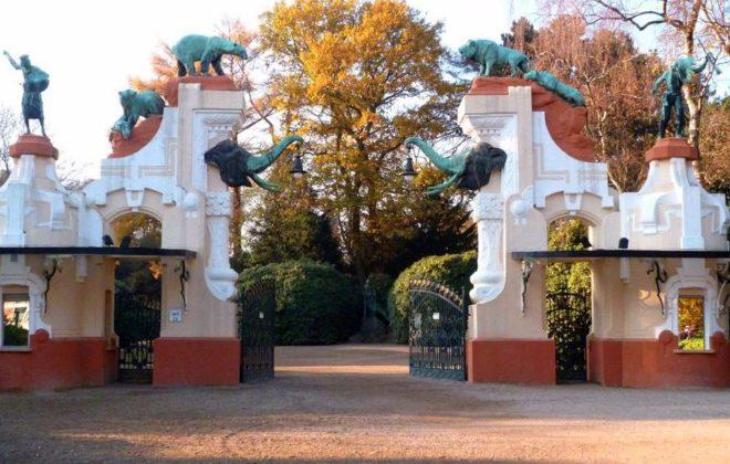 Вход в зоопарк Хагенбека