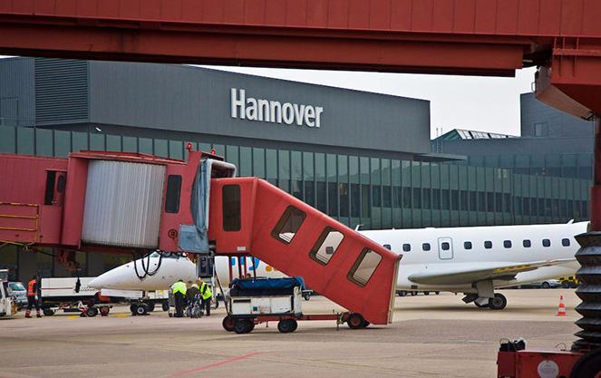 Аэропорт в Ганновере
