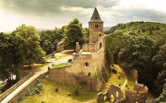Франкенштейн – особенный замок в Германии