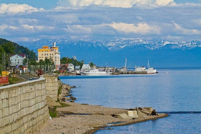 Курорт Листвянка на Байкале