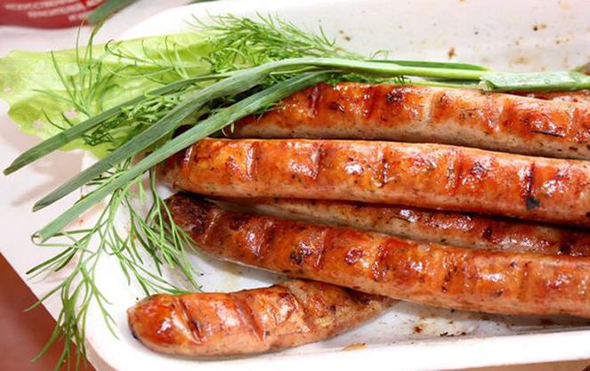 Баварские колбаски основа национальной кухни