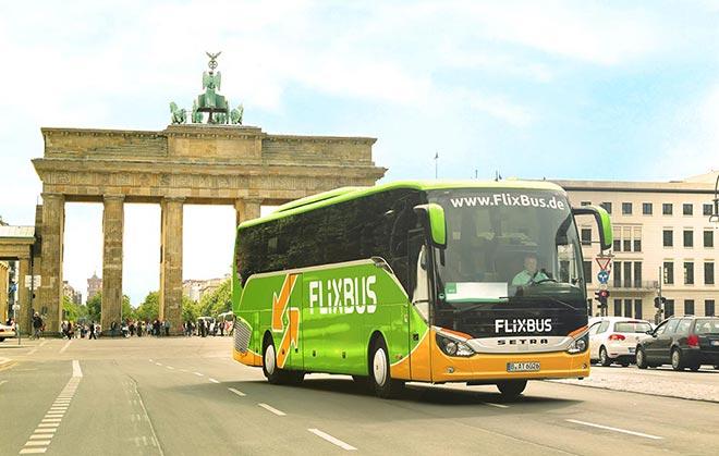 Автобус из Берлина в Лейпциг
