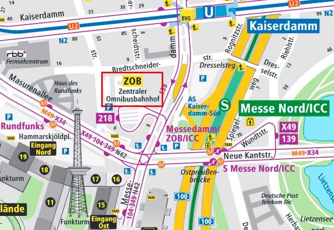 Центральный автовокзал Берлина (ZOB am Funkturm)