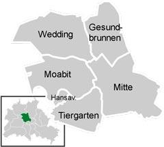 Район Митте (Mitte) в Берлине